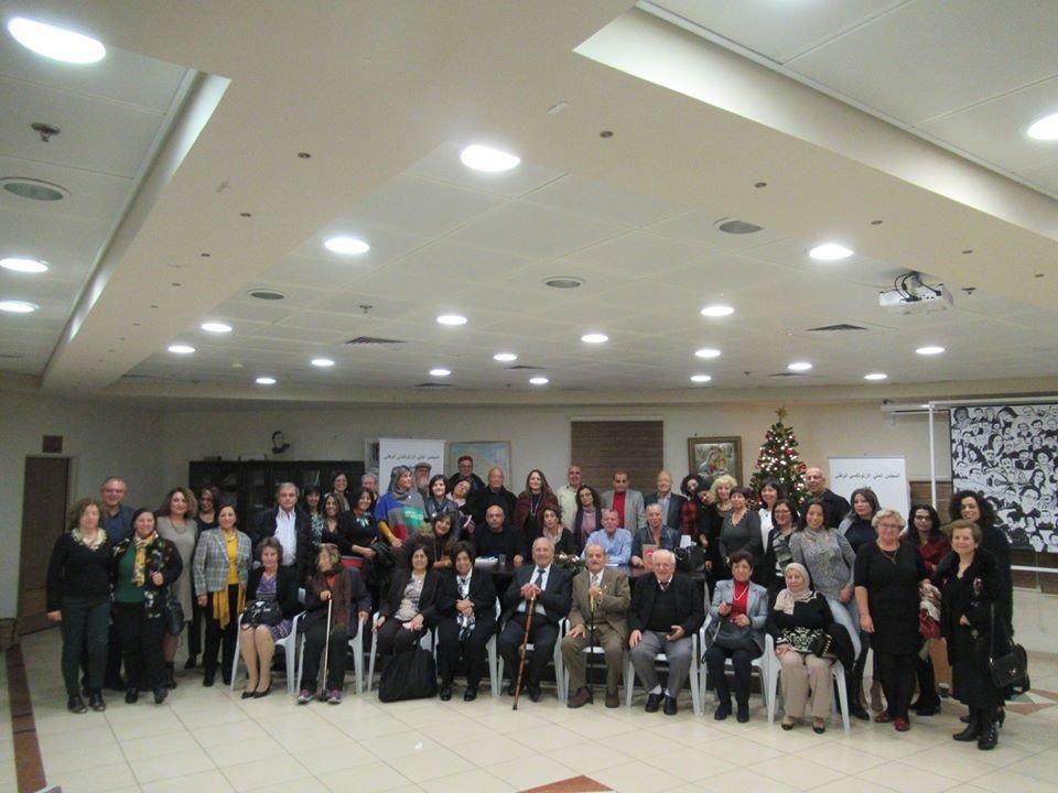 الروائية الفلسطينية سعاد العامري وروايتها  دمشقيَ في أمسية توقيع وإشهار في نادي حيفا الثقافي