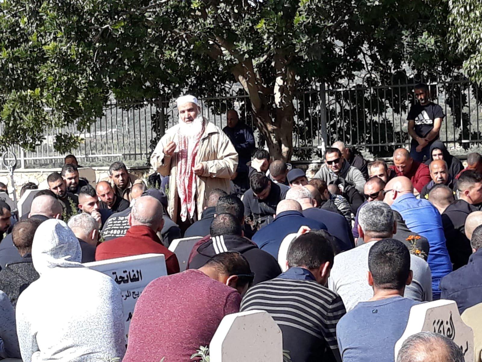دير حنا: تشيع جثمان الطفل يوسف حمود ضحة حادثة الطرق