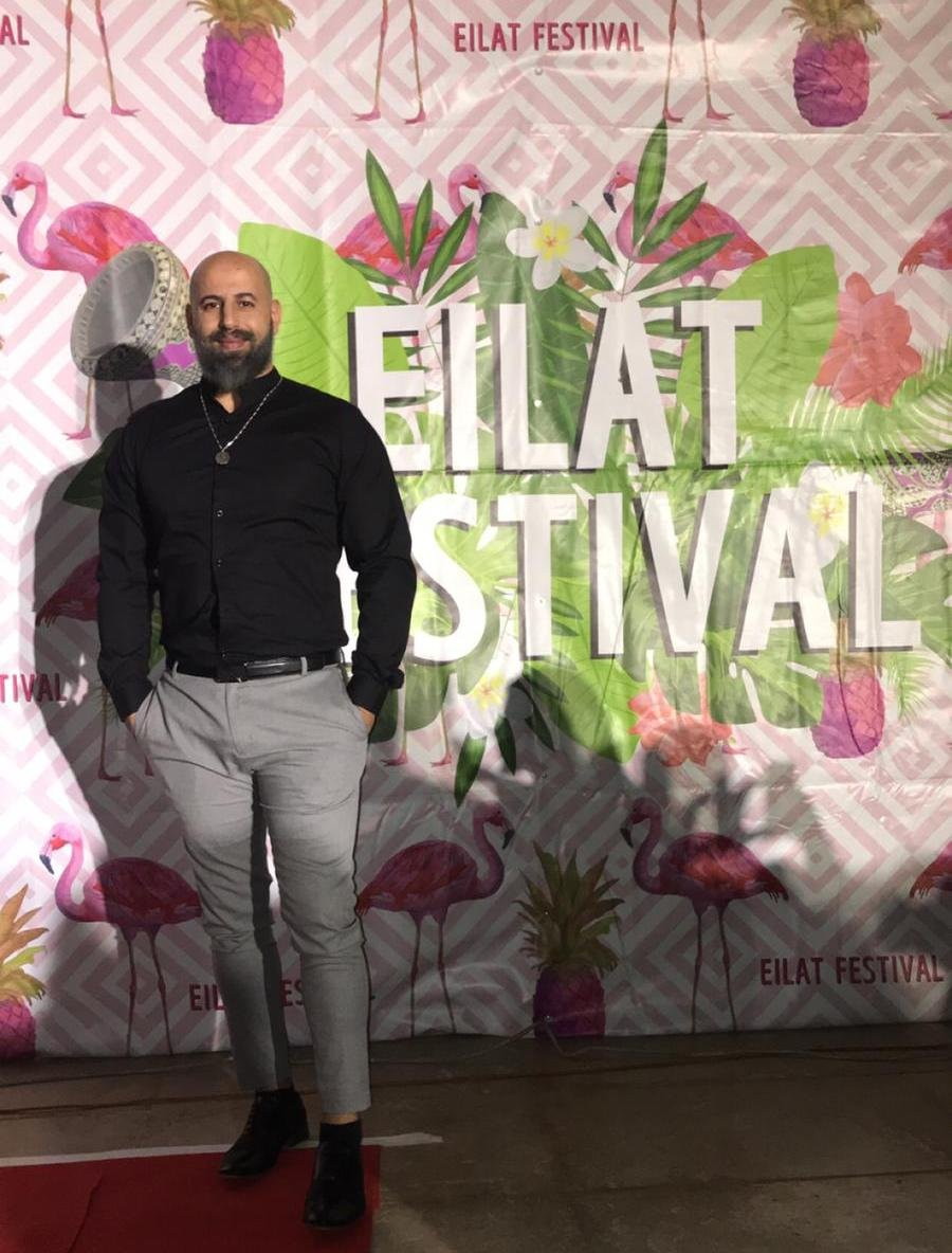 صالح شامي ابن قرية الجديدة المكر يتألق في مهرجان ايلات الدولي للمرة الثامنة على التوالي