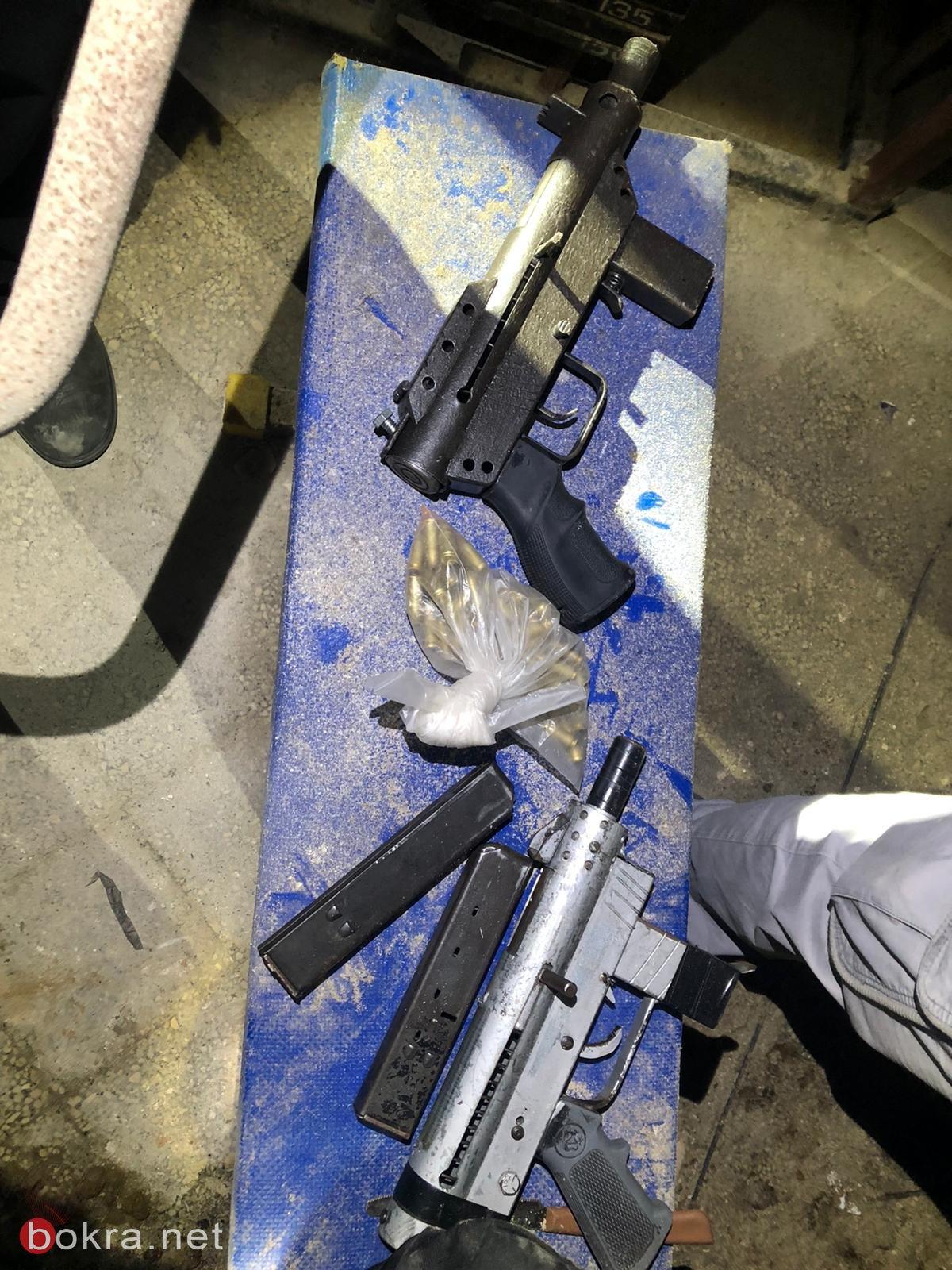 الناصرة : ضبط اسلحة واعتقال مشتبهين