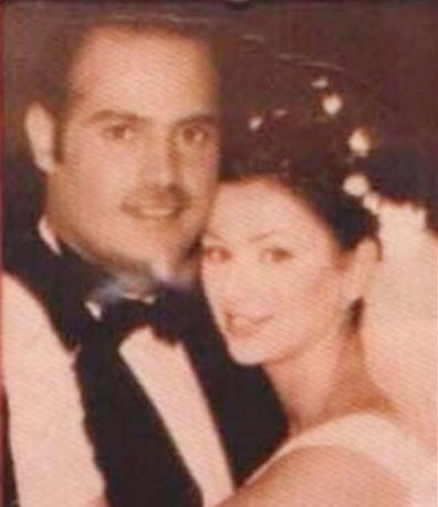 صورة نادرة من زفاف كوليت وعاصي الحلاني