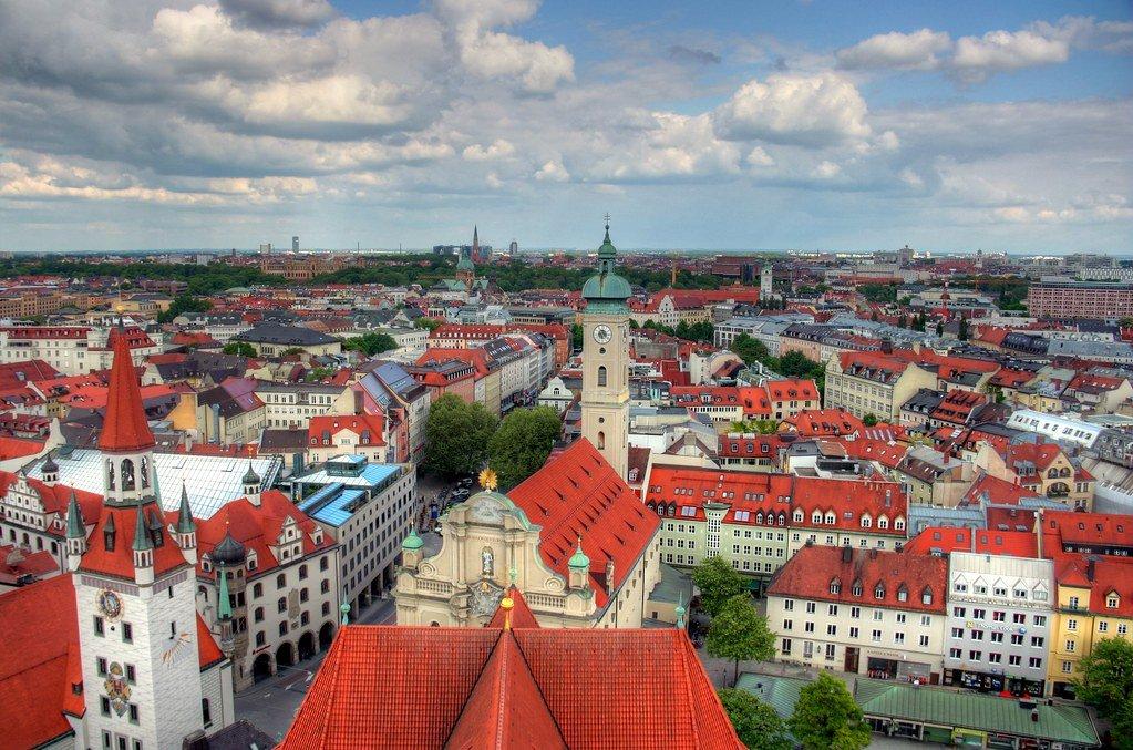 الأماكن السياحية في ميونيخ في سبتمبر