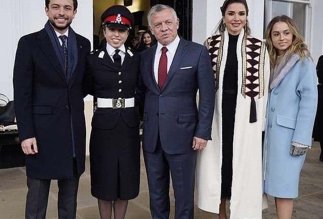 تخرج ابنة الملك عبد الله من الأكاديمية العسكرية البريطانية