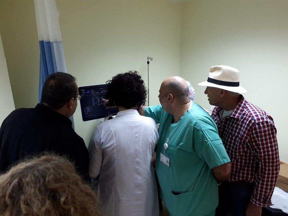 تزويد غرف الولادة في مستشفى الناصرة الانجليزي بأحدث الأجهزة
