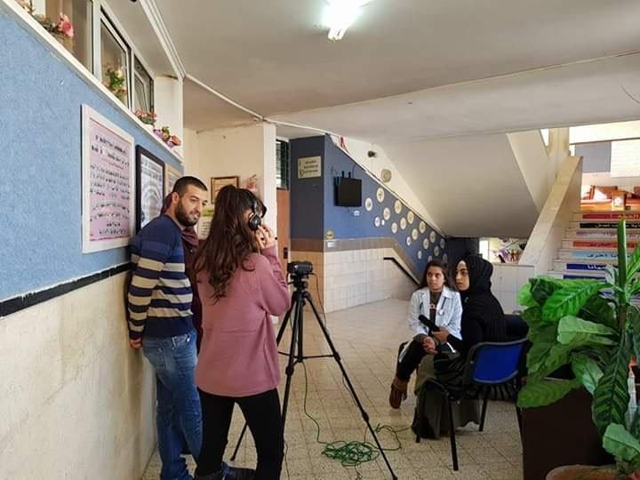 رشا اغباريّة من امّ الفحم: هناك خوف وتردد من الإقبال على مجال الاعلام