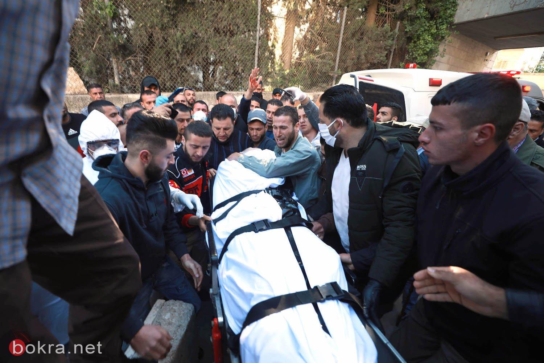 تشييع جثمان الشهيد الأسير نور البرغوثي في عابود برام الله-3