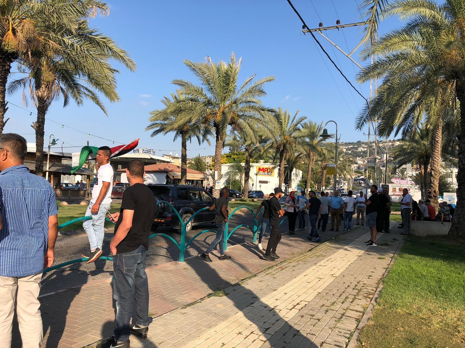 عرعرة: انطلاق المظاهرة الاحتجاجية ضد الهدم