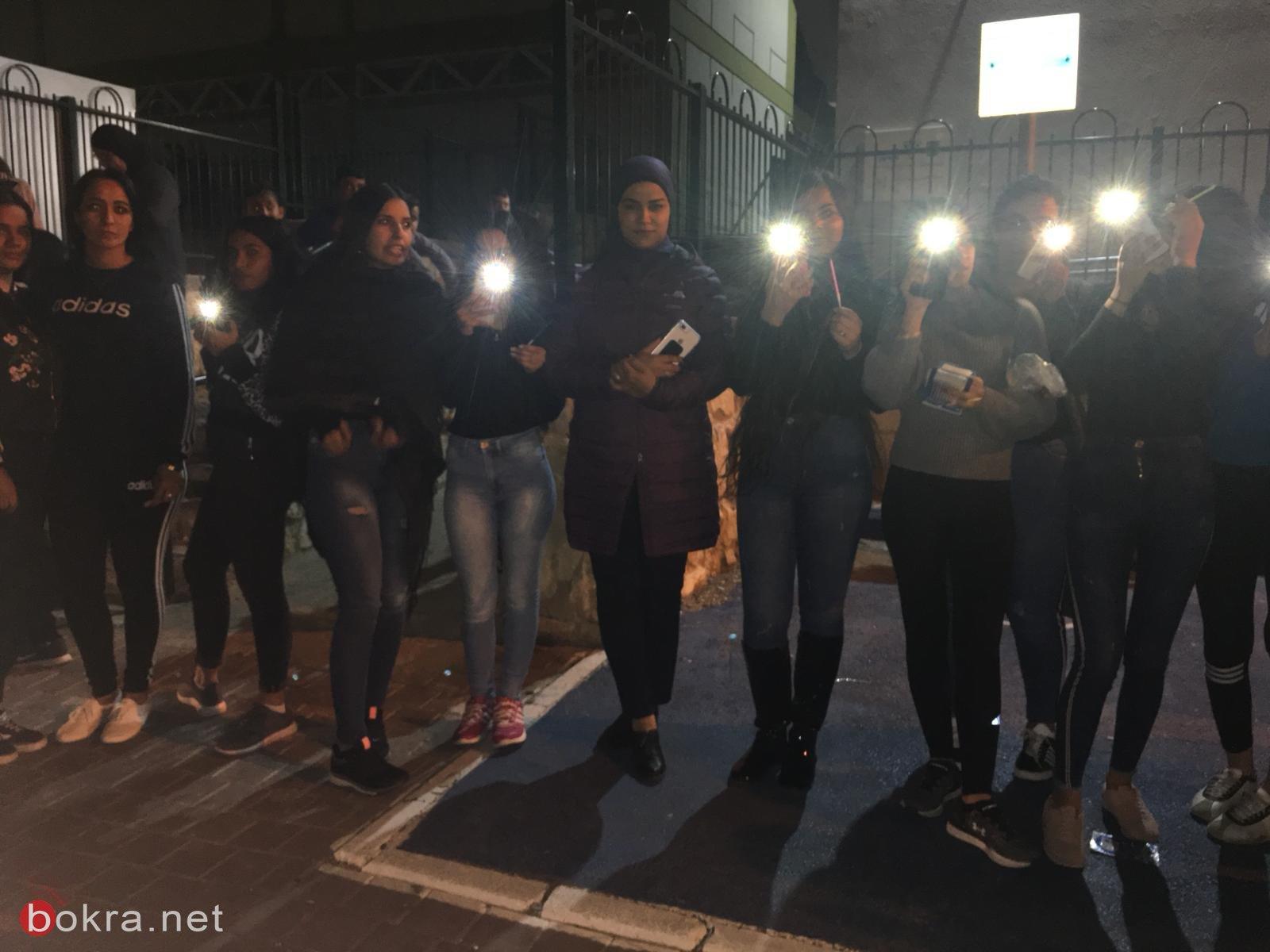تزامنًا مع جنازة الفتاة يارا أيوب .. تظاهرات غضب في البلدات العربية