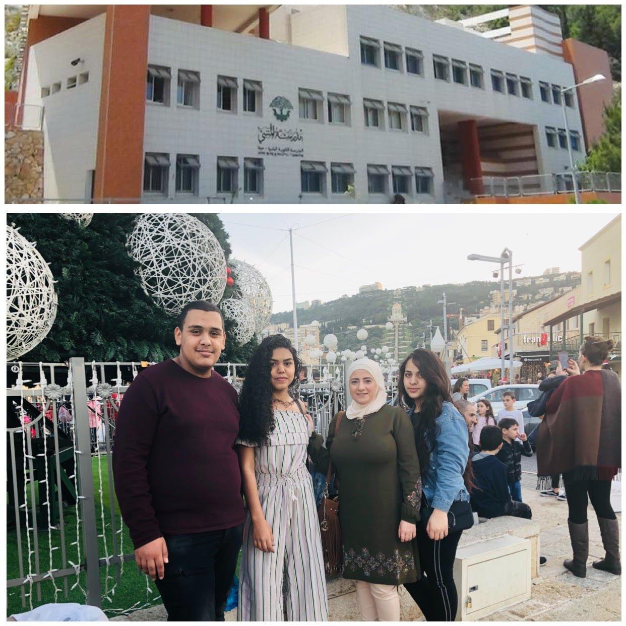 مدرسة المتنبّي في حيفا تتماهى مع عيد الأعياد على طريقتها الخاصّة وتختتم فصلها الدراسيّ الأوّل