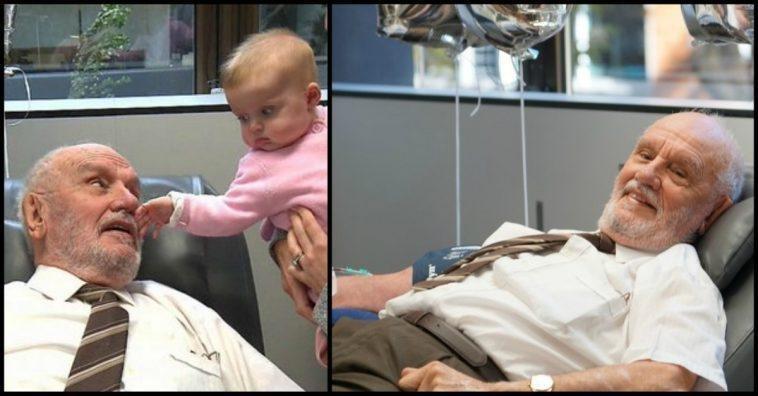 استرالي أنقذ أكثر من مليوني طفل حول العالم