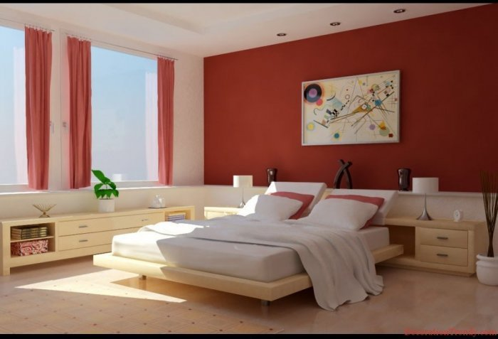 ديكورات غرف نوم صغيرة للعرسان
