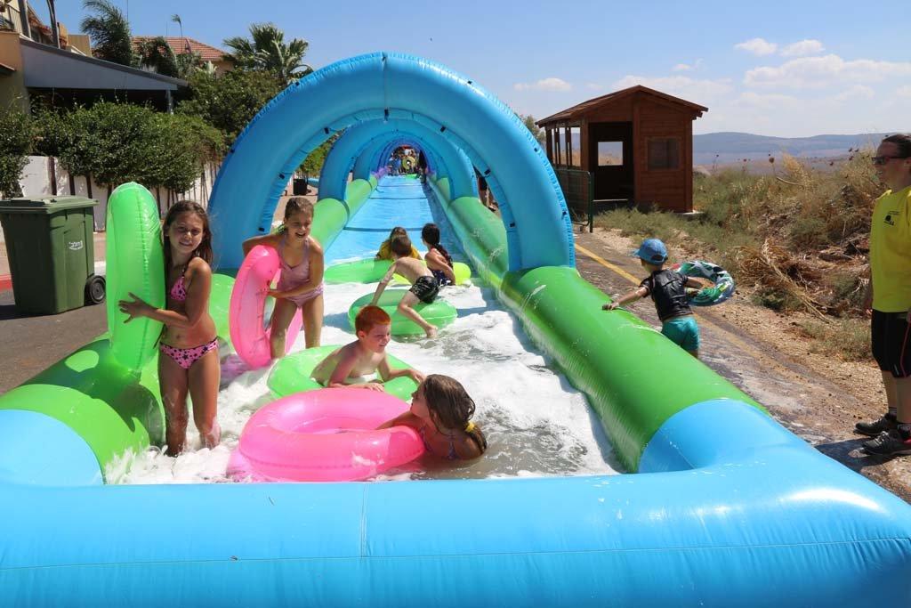 العطلة الصيفية في الجلبوع .. مخيّم صيفي كبير
