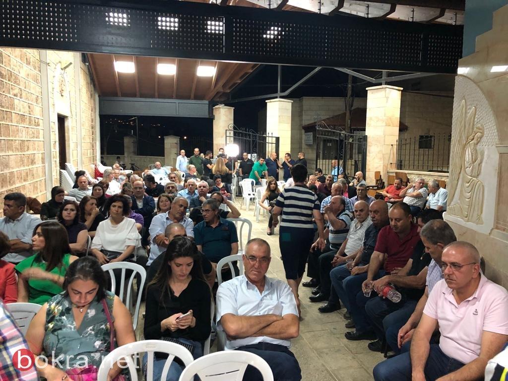 مهرجان احتفالي في الرامة بتحرير النائب السابق باسل غطاس