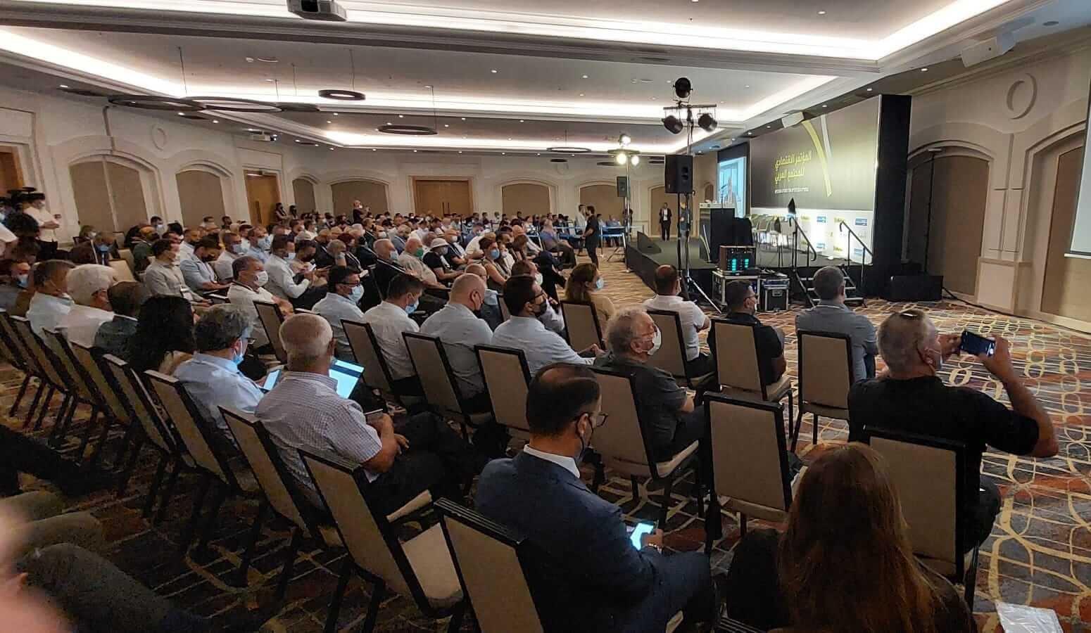 """نجاح كبير لـ """"المؤتمر الاقتصادي للمجتمع العربي """" لـ The Marker وبنك لئومي-0"""