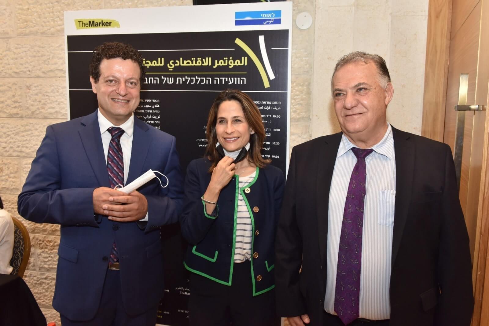 """نجاح كبير لـ """"المؤتمر الاقتصادي للمجتمع العربي """" لـ The Marker وبنك لئومي-6"""