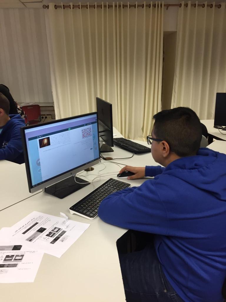 يوم تنور علمي تكنولوجي للصفوف الثامنة في المدارس الإعدادية العربية