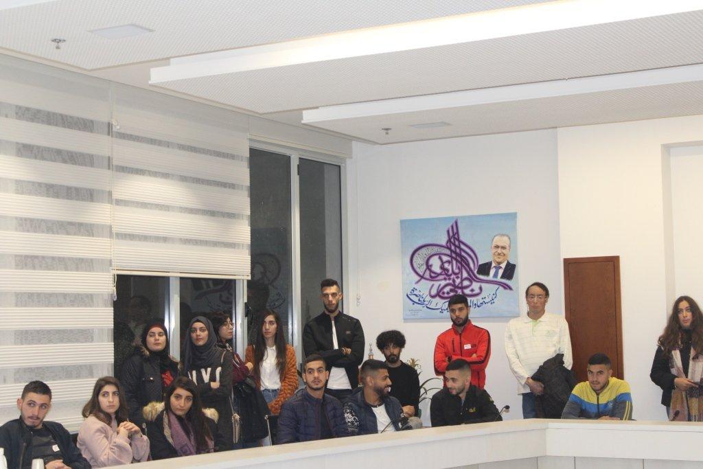 افتتاح نادي الطلاب الجامعيين البلدي في الناصرة