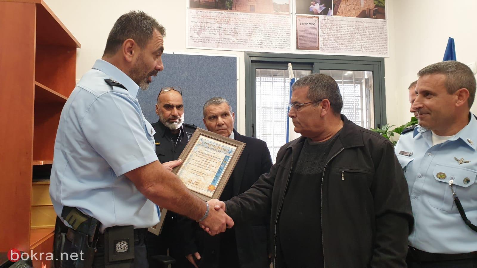 رئيس بستان المرج وقائد لواء الشمال يفتتحون مركز شرطة في نين