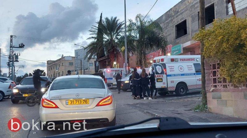 كفرقرع : إصابة رجل (50عامًا) جراء تعرضه للطعن-1