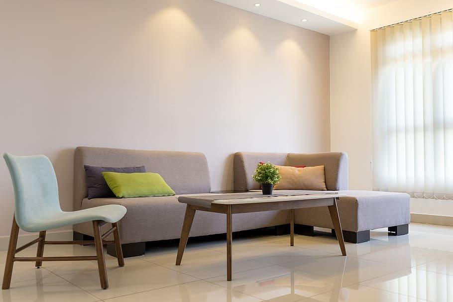 طاولات خشبية لغرفة الجلوس