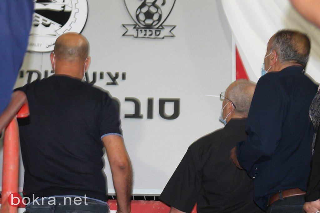 بحضور روح صبحي.. وهتافات الجماهير ..الاتحاد السخنيني يحقق انتصار كبير على مـ تل ابيب 3-1)-77