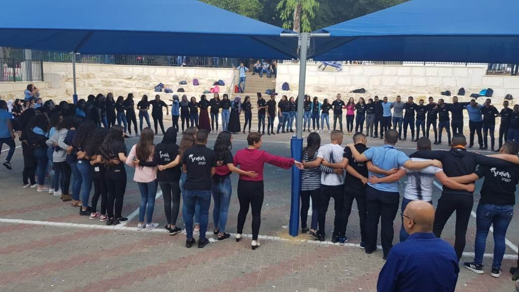 طلاب مدرسة ثانوية رؤوف أبو حاطوم يافة الناصرة ينتخبون معتز أبو عابد رئيسًا لمجلس الطلاب