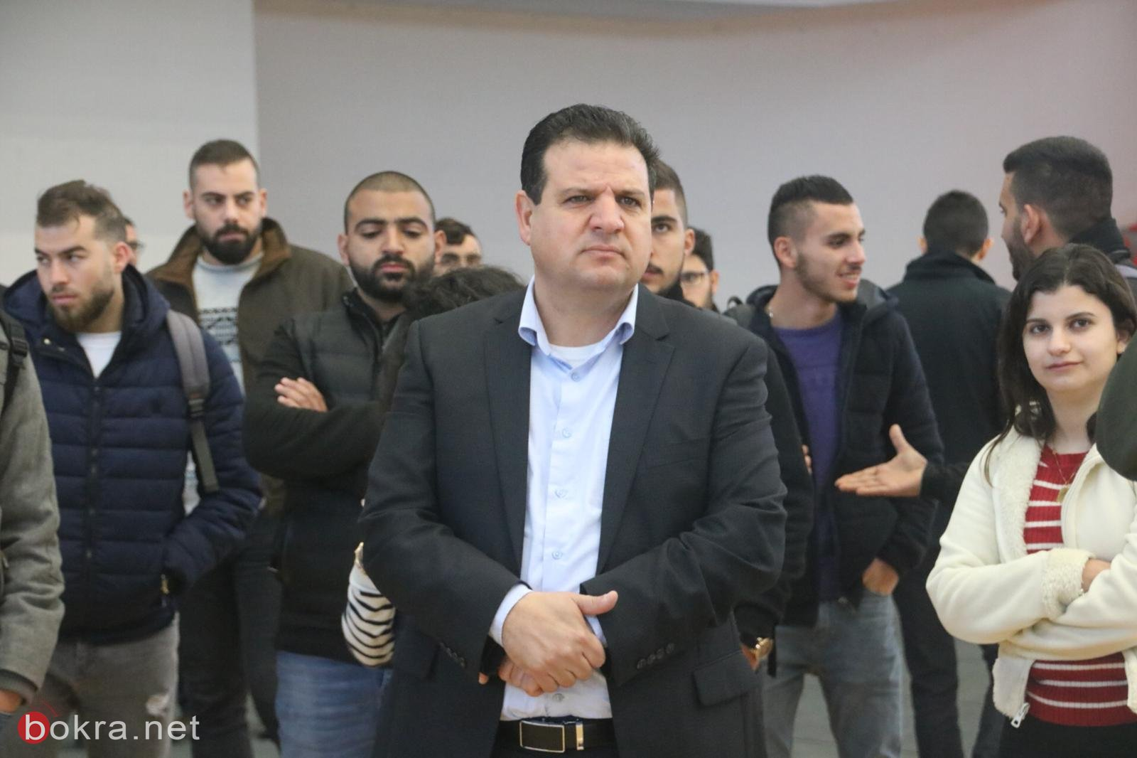 النائب أيمن عودة يلتقي بطلّاب الجامعة العربيّة الأمريكيّة ويستمع لمشاكلهم