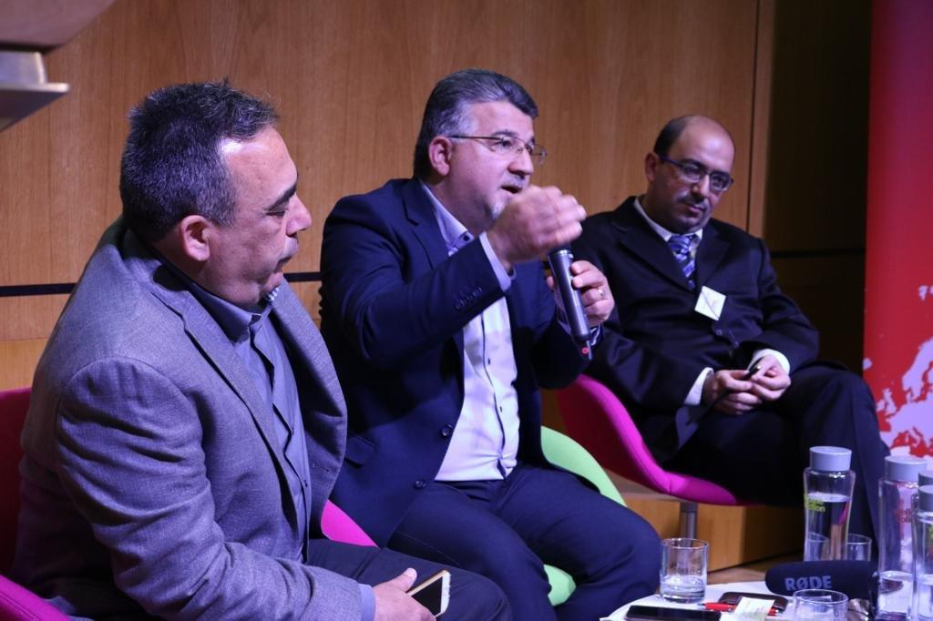 النائب جبارين في لندن: هناك حاجة لضغط دولي جدي على اسرائيل لتغيير سياساتها