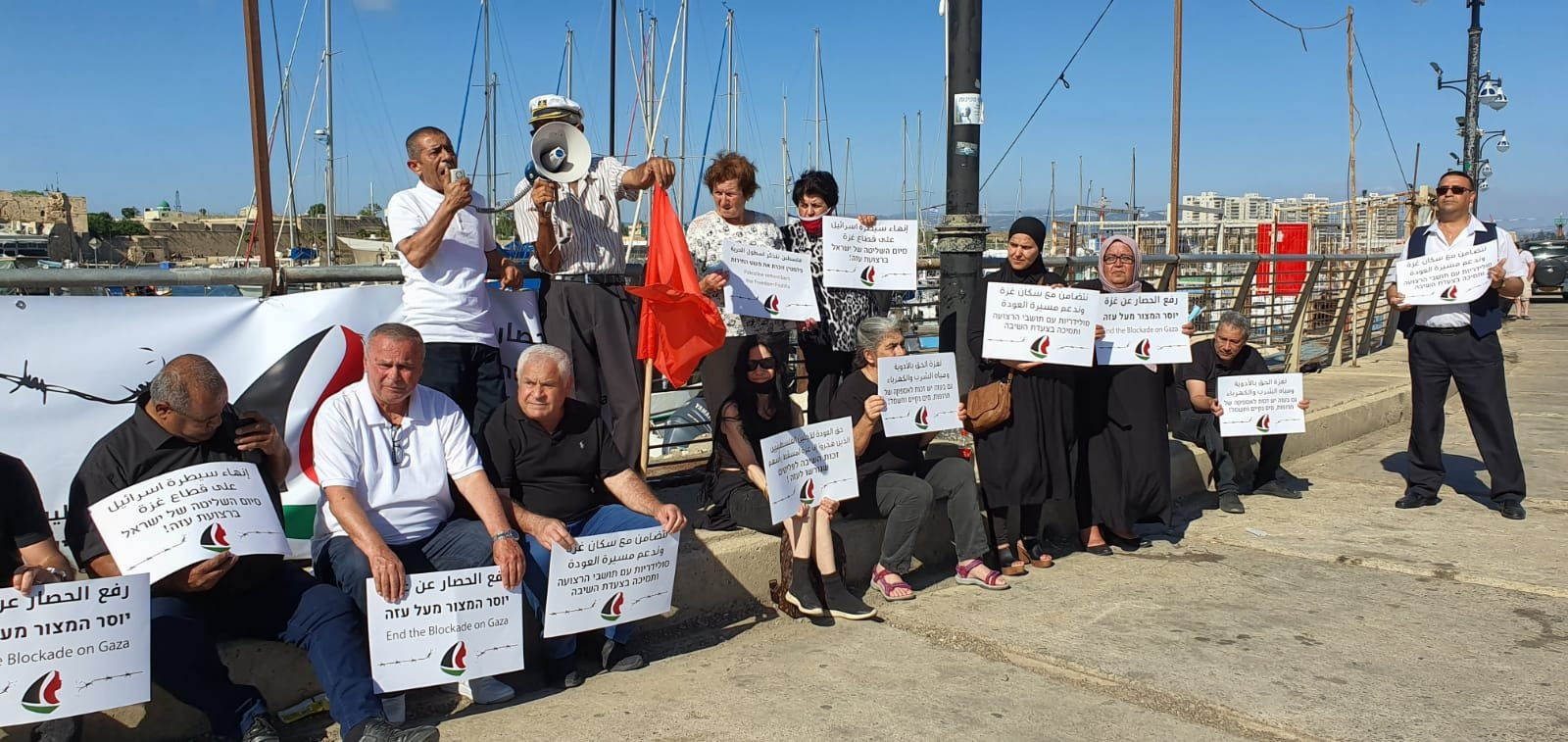 عكا ويافا تستذكران 10 سنوات على اسطول الحرية- مرمرة