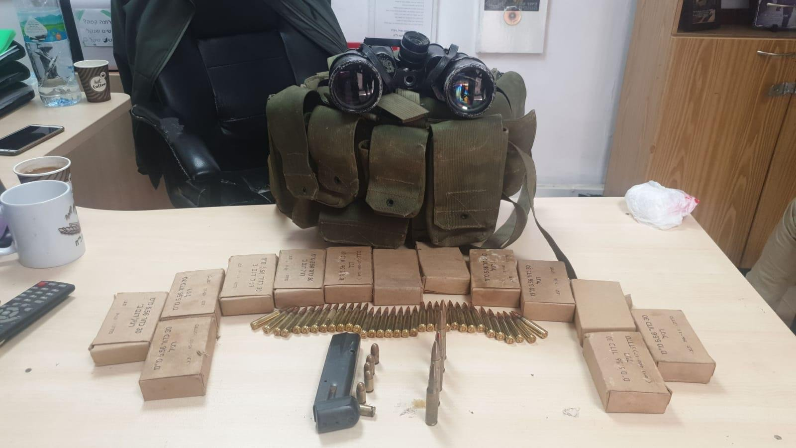 الشرطة: ضبطنا منذ بداية العام 3661 قطعة سلاح  .. 80% منها بالمجتمع العربي!