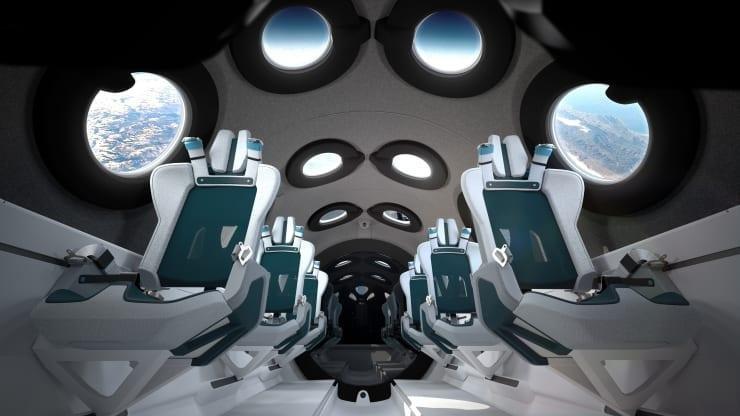 للرحلات السياحية.. تطوير مقصورة مركبة فضائية رائعة