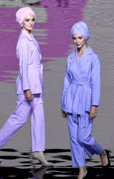 """عرض أزياء """"الموضة المحتشمة""""... بلمسات شرقية حديثة! (صور)-1"""