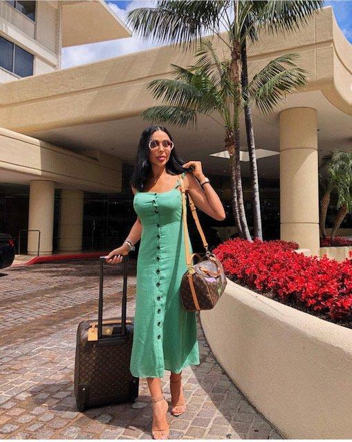 جيجي رضا طبيبة لبنانية تجمع بين الطب العائلي ودارًا للأزياء