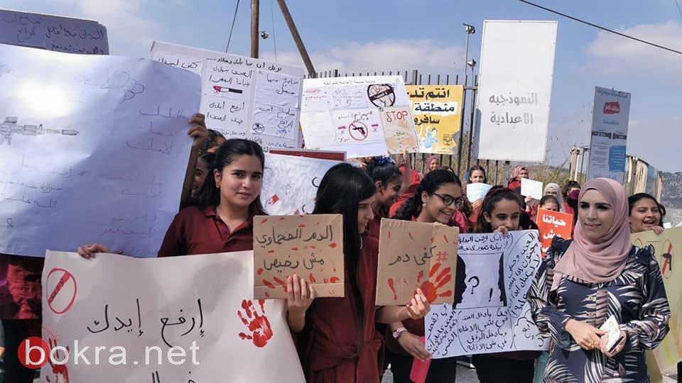 طلاب المدارس في أمّ الفحم ينتفضون ضد العنف-11