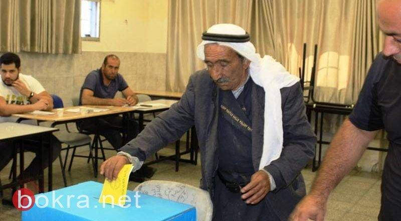 بكرا يلخص: نسبة التصويت 55.62%. انتخابات مع 13478 رجل و3975 إمرأة!