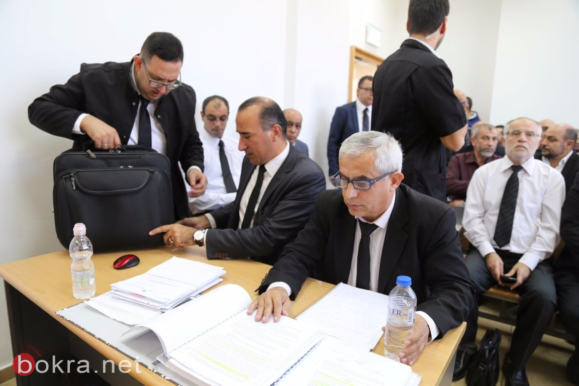 محكمة الصلح في الكريوت تعقد جلستها للنظر في ملف مقبرة القسام – قضاء حيفا -2