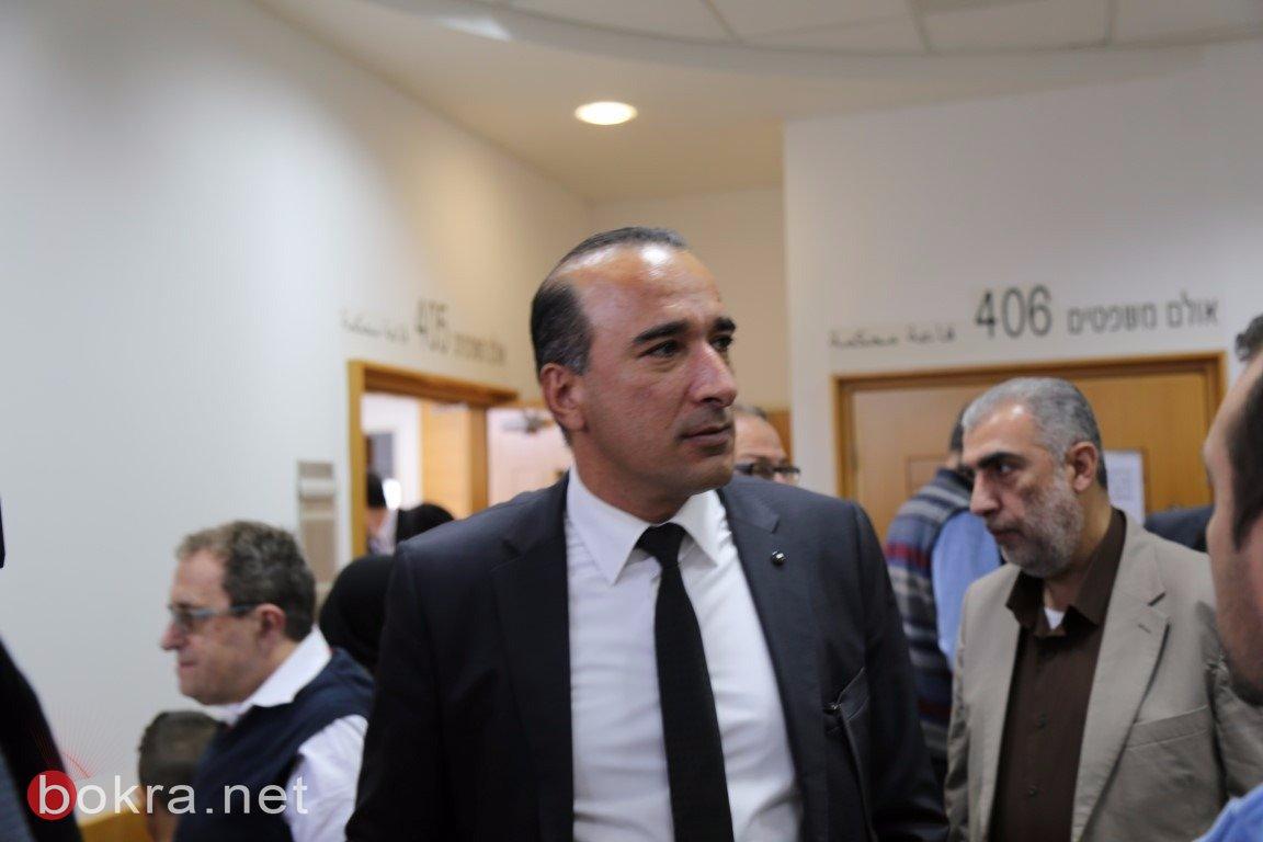 محكمة الصلح في الكريوت تعقد جلستها للنظر في ملف مقبرة القسام – قضاء حيفا -3