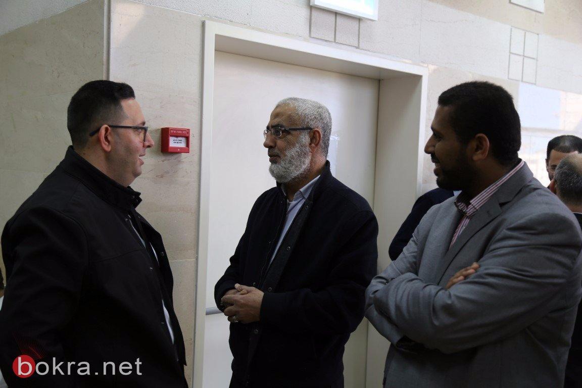 محكمة الصلح في الكريوت تعقد جلستها للنظر في ملف مقبرة القسام – قضاء حيفا -4