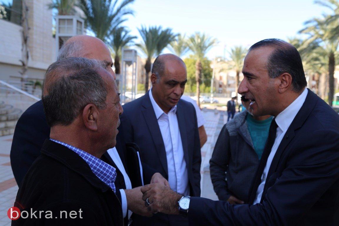 محكمة الصلح في الكريوت تعقد جلستها للنظر في ملف مقبرة القسام – قضاء حيفا -6