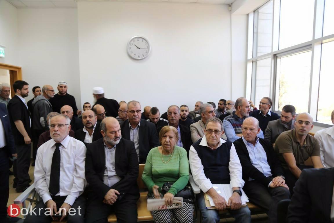 محكمة الصلح في الكريوت تعقد جلستها للنظر في ملف مقبرة القسام – قضاء حيفا -7