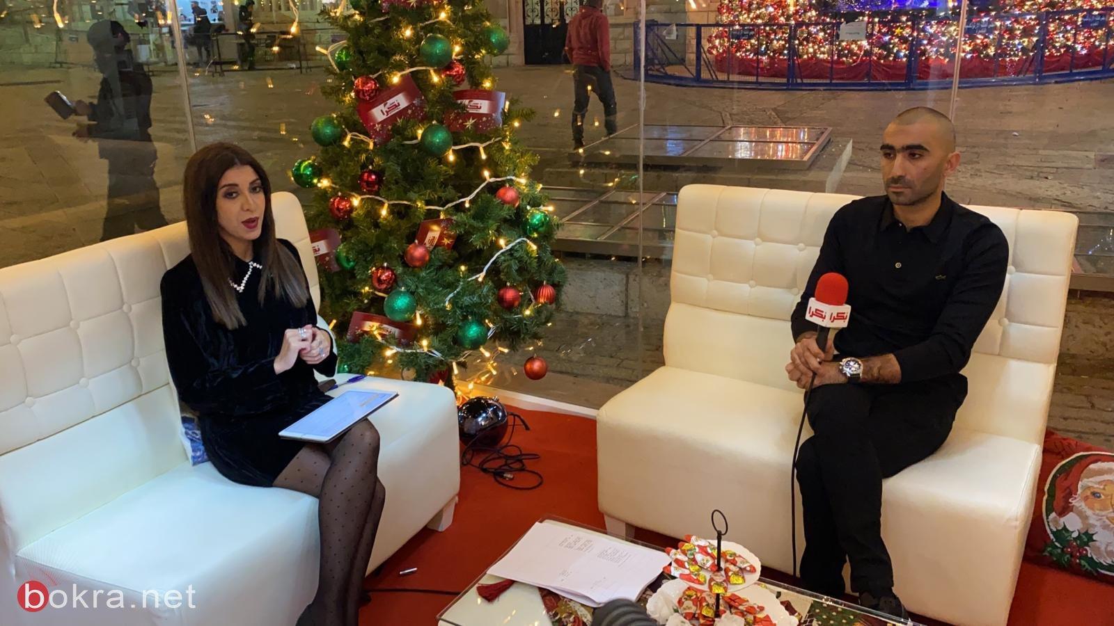 """اليوم اختتام فعاليات ستوديو كريسماس بكرا""""، مقابلات حصرية وخاصة-1"""