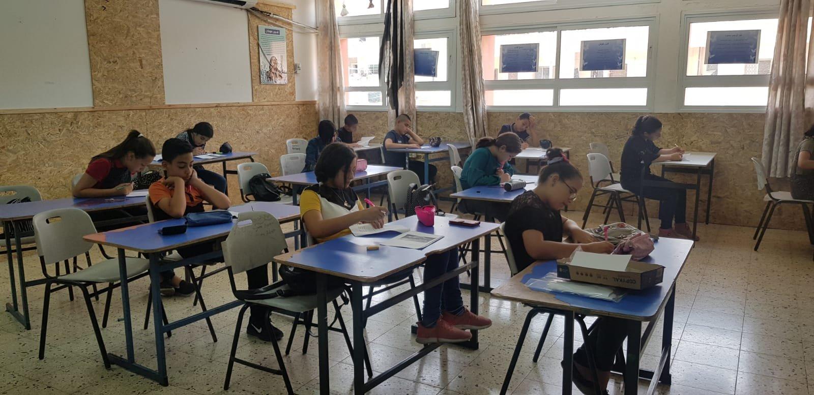مَدرسة وادي النُّسور الإعداديَّة – أم الفحم تُنَظِّمُ يومًا حافلًا لطُلَّاب الصُّفوف السَّادسَة