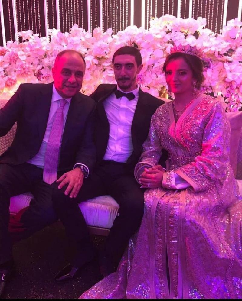 كاظم الساهر يحتفل بزفاف ابنه الأصغر بحضور نجوم المغرب