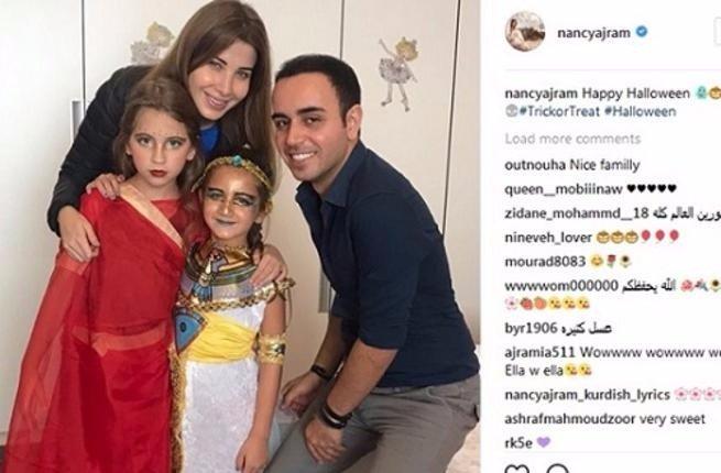شاهد: ابنتا نانسي عجرم تحتفلان بـ(الهالاوين)