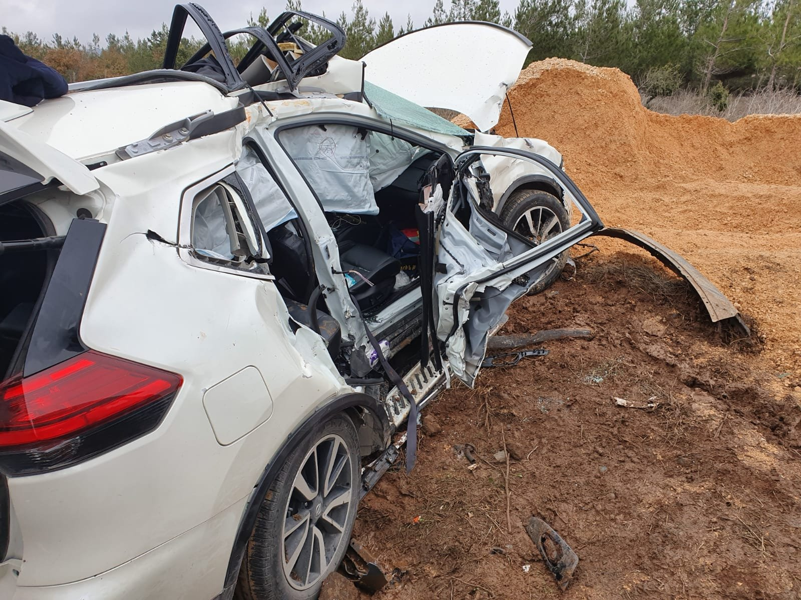 مقتل سيدة وإصابة 4 آخرين بحادث طرق مروع في الجولان
