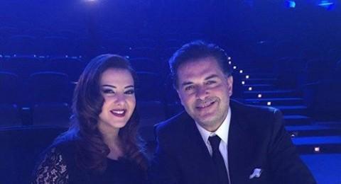 دنيا سمير غانم بـ«لوك» مذهل في كواليس «X Factor»