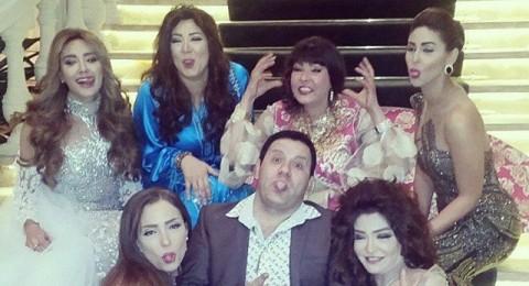 فستان علا غانم يثير غضب جمهورها