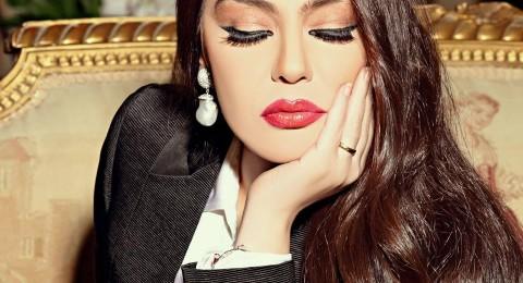 بالصور: شريهان تستعين بالفواكه المجففة لديكور بيتها الفخم