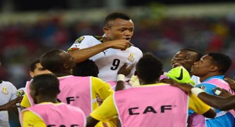 غانا تسحق البلد المضيف بثلاثية وتصعد لمواجهة ساحل العاج في نهائي كأس افريقيا