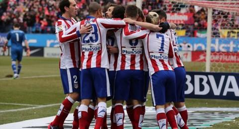 أتلتيكو مدريد يدمر ريال مدريد برباعية في الكالديرون !